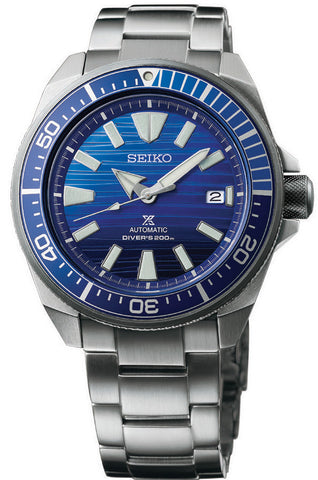 Seiko Watch Prospex Save the Ocean Samurai Special Edition