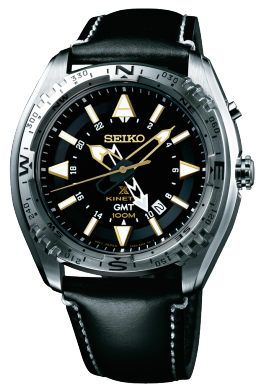 Seiko Watch Prospex Kinetic GMT D