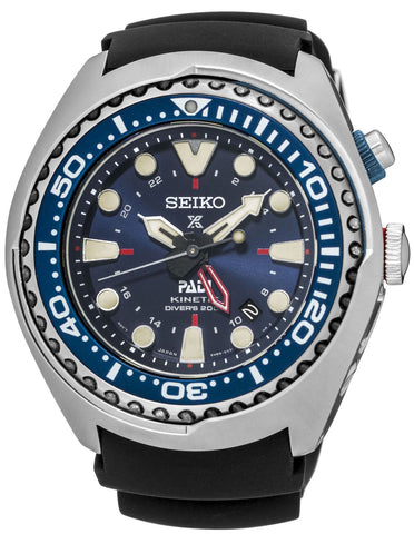 Seiko Watch Prospex PADI Kinetic GMT Diver Special Editions