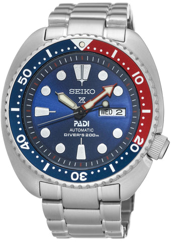 Seiko Watch Prospex PADI Turtle Automatic Diver Special Editions