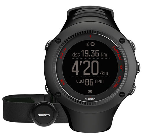 Suunto Watch Ambit3 Run Black (HR) D