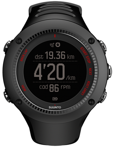 Suunto Watch Ambit3 Run Black