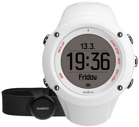 Suunto Watch Ambit3 Run White (HR)
