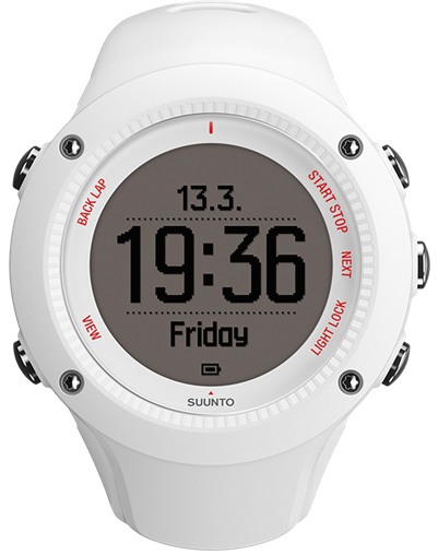 Suunto Watch Ambit3 Run White