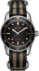 Bremont Watch Supermarine S301 Black Nato S301/BK/R Stone Canvas Nato