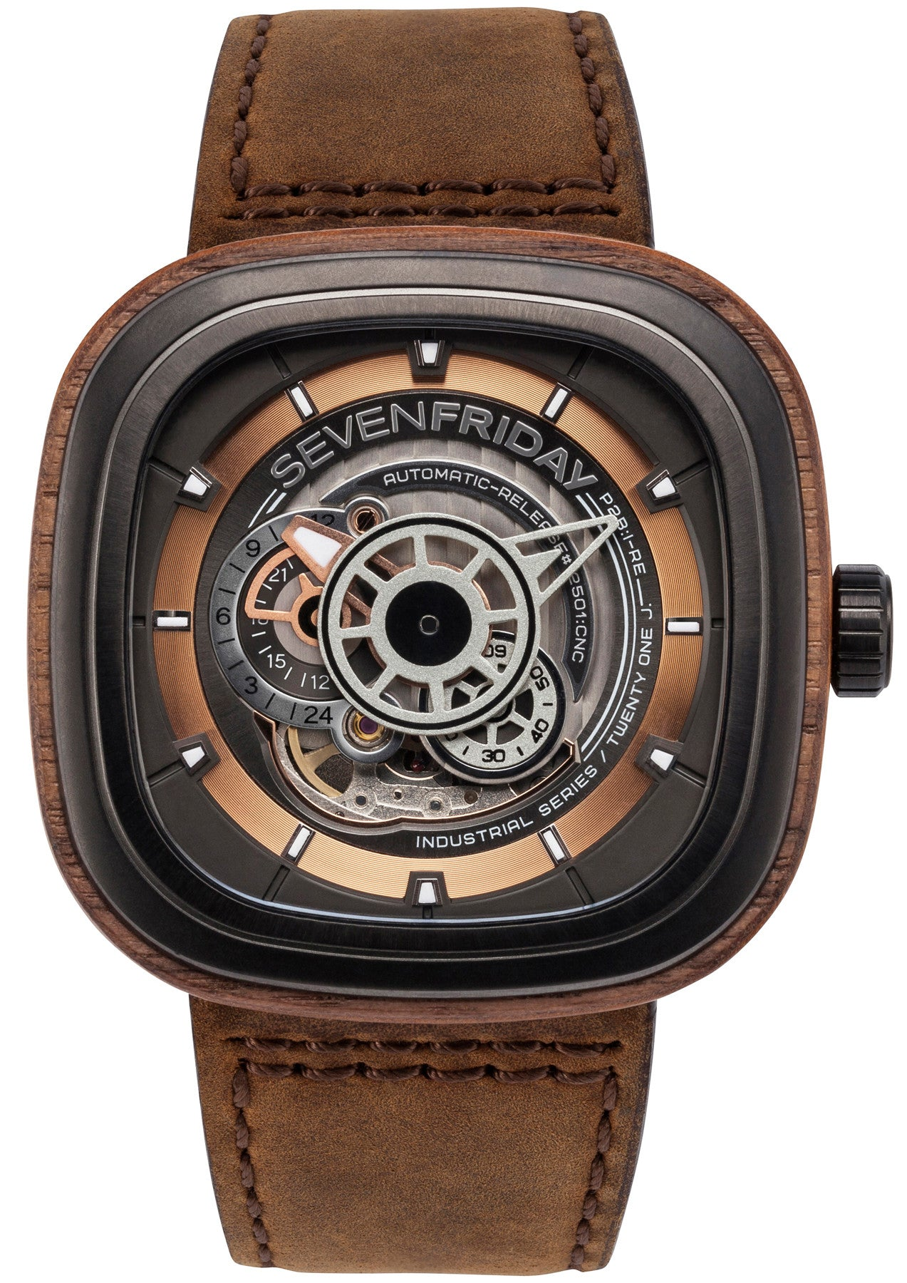 Limited Edition Birthday Collection: SevenFriday Watch Woody P2B/03 Limited Edition D P2B/03-W