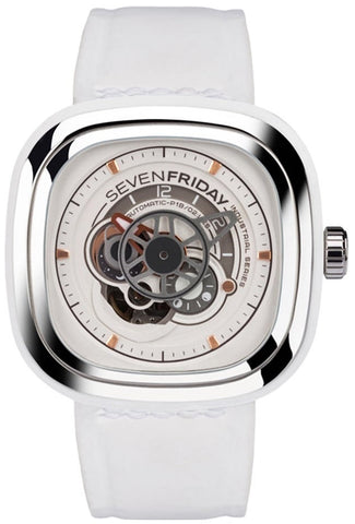 SevenFriday Watch White P1B/02 Limited Edition