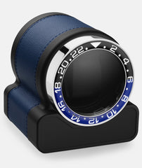 Scatola del Tempo Watch Winder Rotor One Blue Batman Bezel