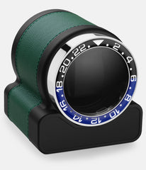 Scatola del Tempo Watch Winder Rotor One Green Batman Bezel