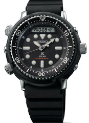Seiko Watch Prospex Tuna Arnie Divers Solar Hybrid Black