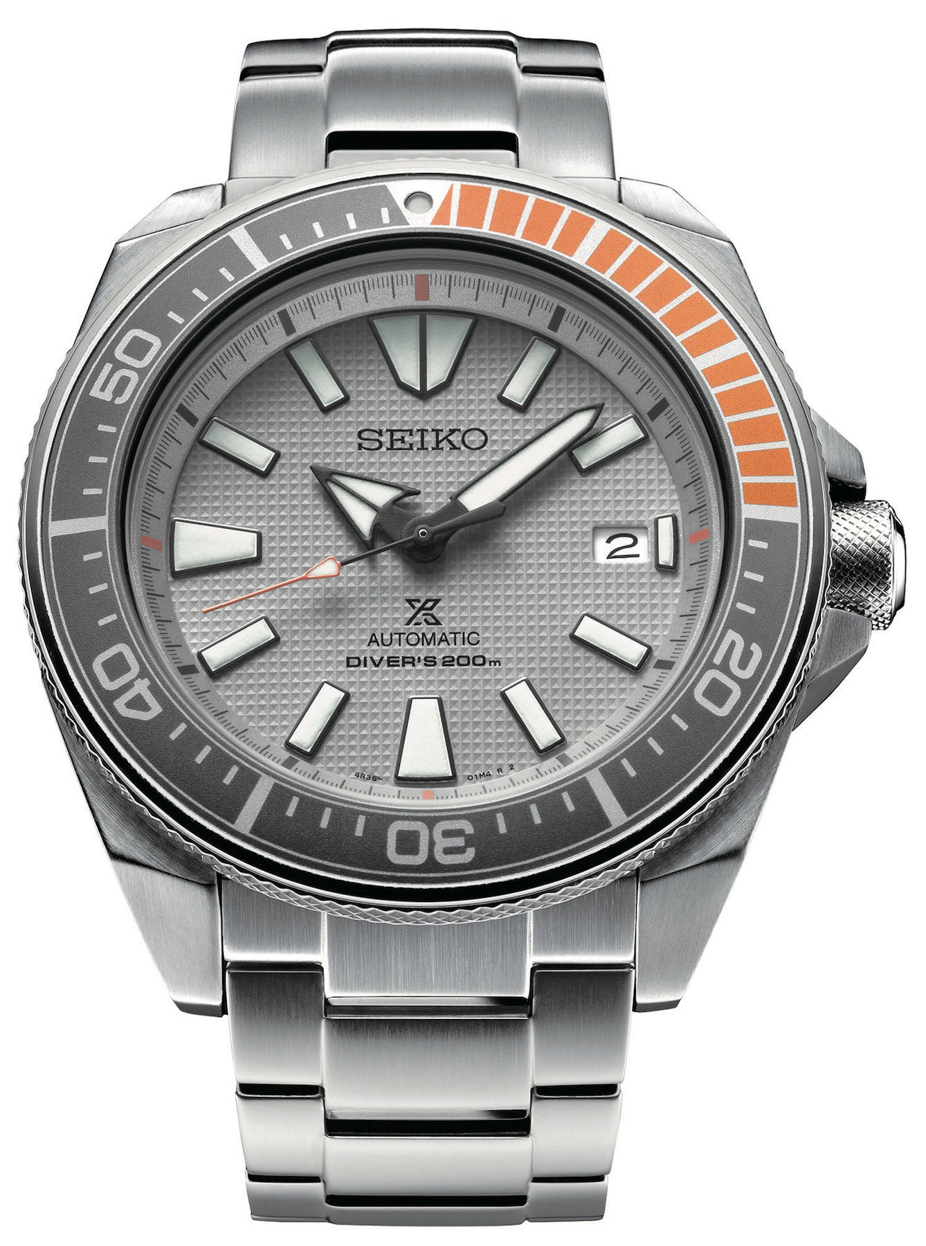 Seiko Watch Prospex Dawn Grey Samurai Limited Edition
