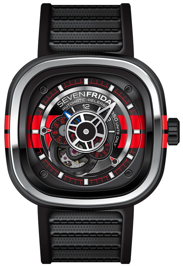 SevenFriday Watch Big Block Limited Edition D