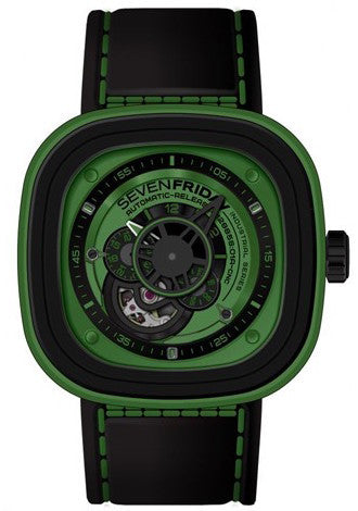 SevenFriday Watch Green P1/05 D