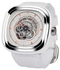 SevenFriday Watch White P1B/02 Bright Limited Edition