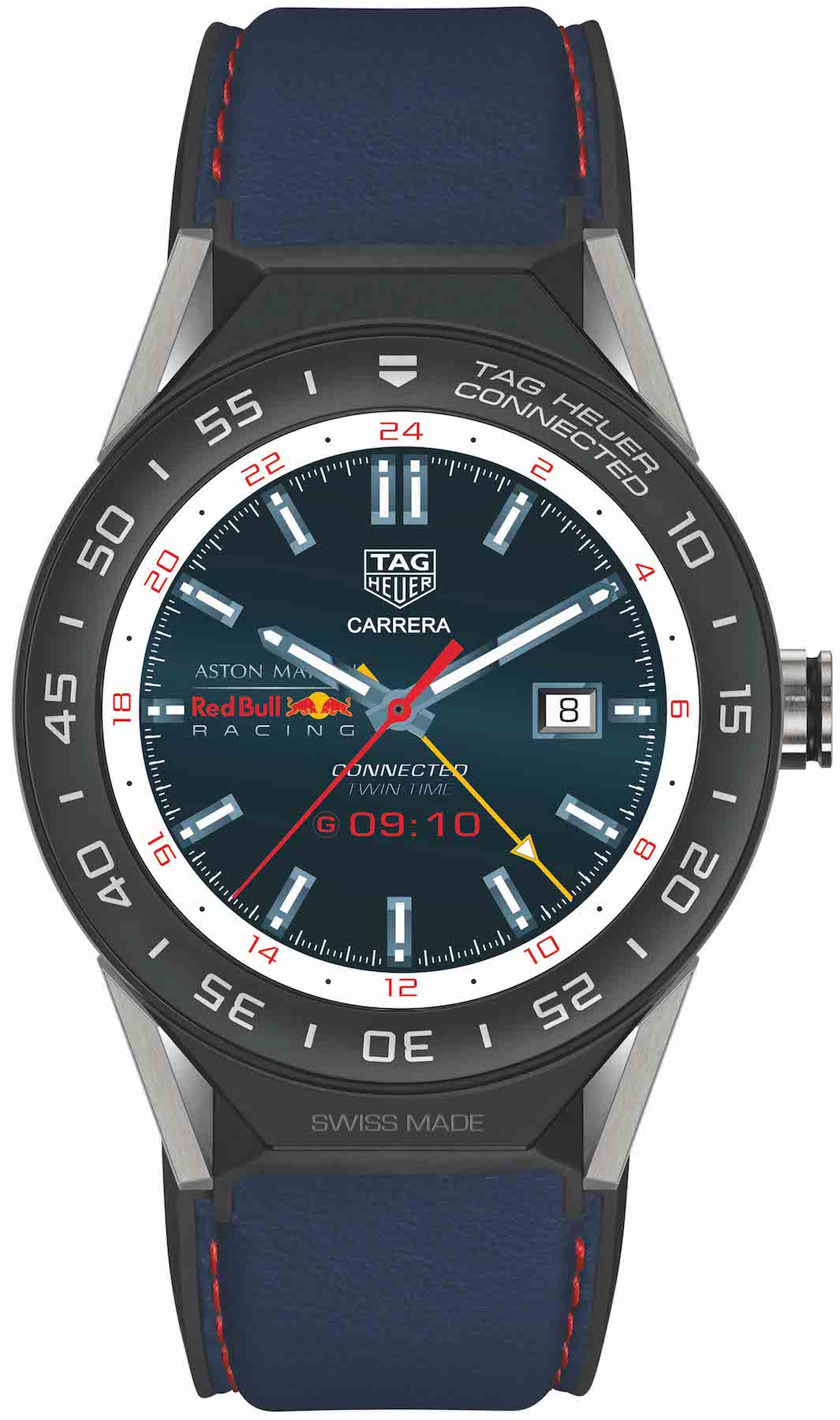tag heuer watch connected modular 45 smartwatch aston. Black Bedroom Furniture Sets. Home Design Ideas