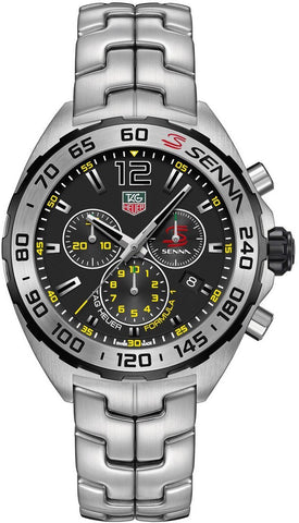 TAG Heuer Watch Formula 1 Senna Special Edition S