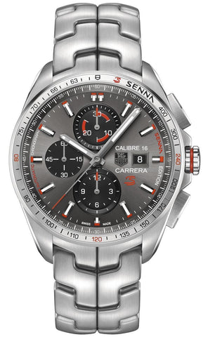 TAG Heuer Watch Carrera Calibre 16 Senna Special Edition D