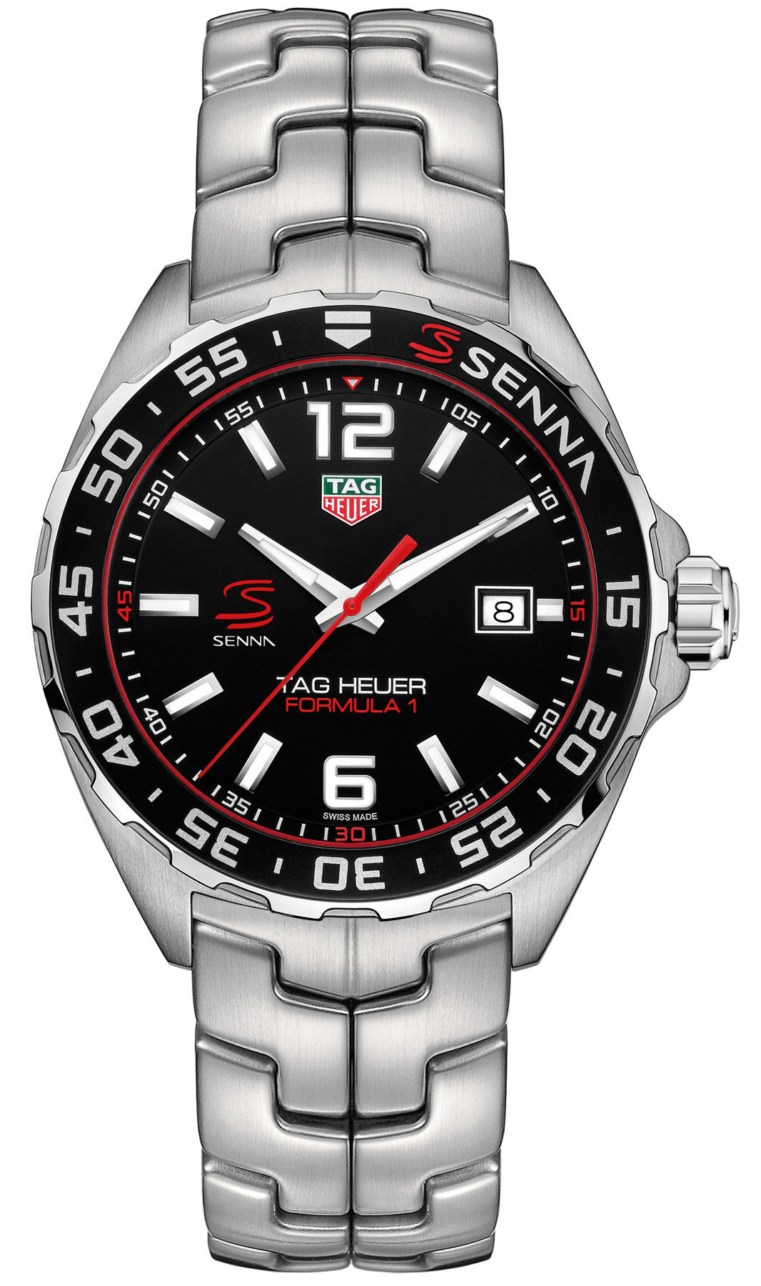 TAG Heuer Watch Formula 1 Senna Limited Edition Bracelet