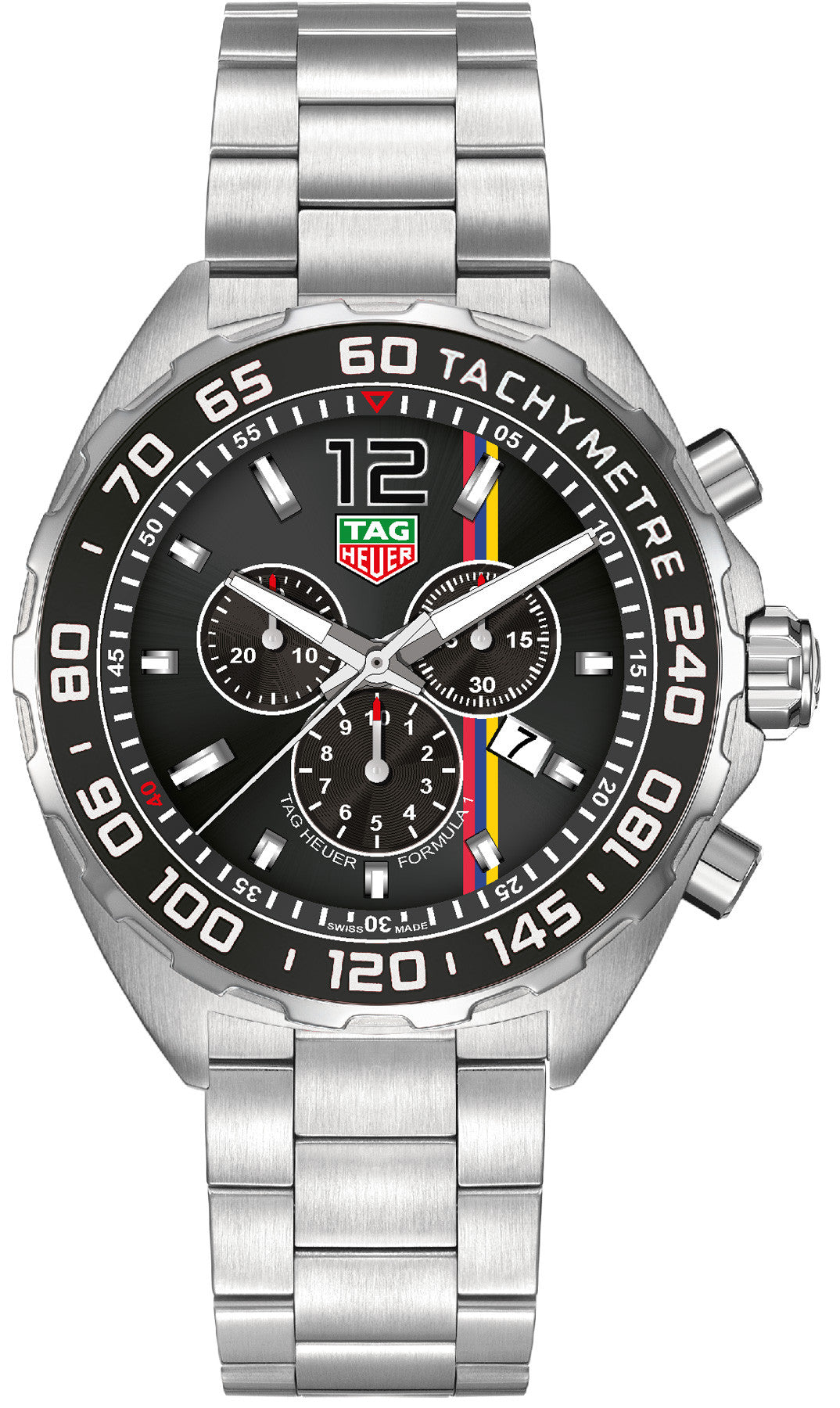 TAG Heuer Watch Formula 1 James Hunt Limited Edition Bracelet