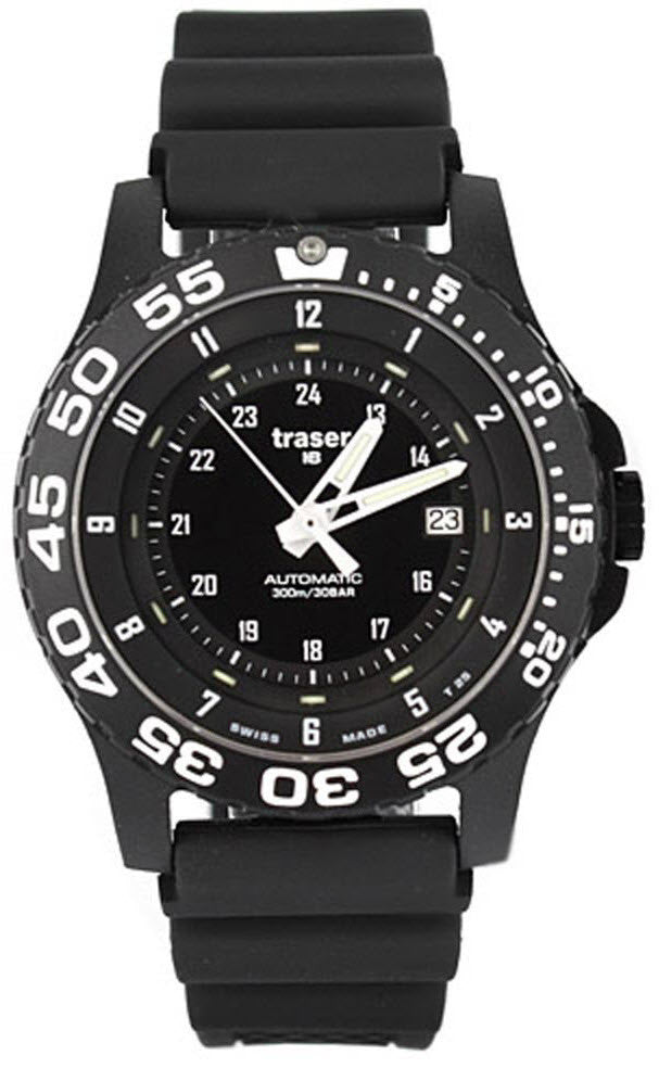 Traser H3 Watch P 6600 Automatic Pro Rubber