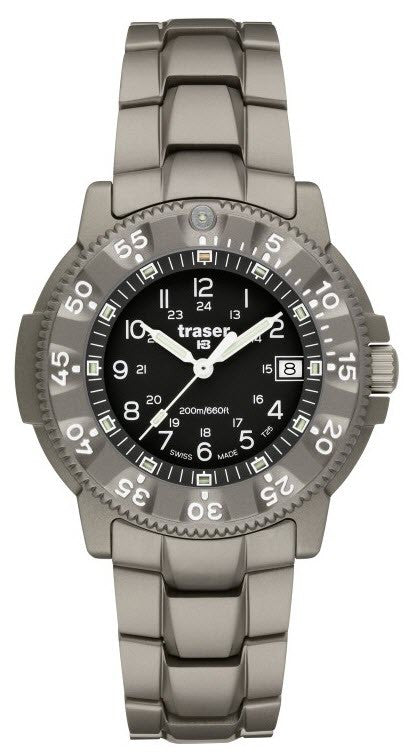 Traser H3 Watch P 6506 Commander 100 Force Titanium