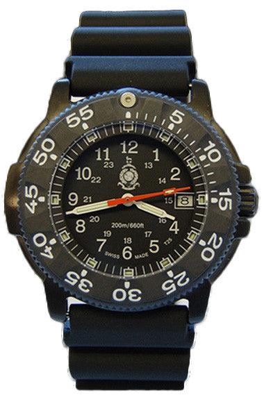 Traser H3 Watch P 6504 Black Storm Pro RM Edition Rubber