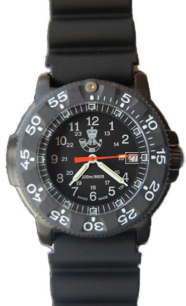 Traser H3 Watch P 6504 Black Storm Pro Rifles Edition Rubber