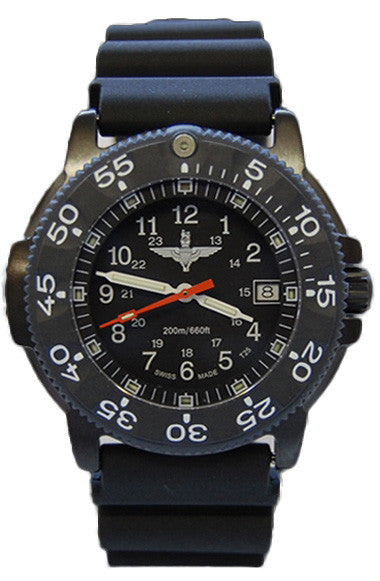 Traser H3 Watch P 6504 Black Storm Pro Para Edition Rubber