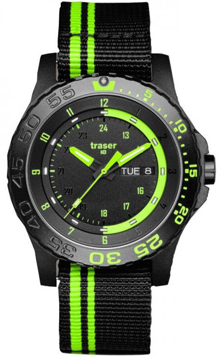 Traser H3 Watch Green Spirit Nato