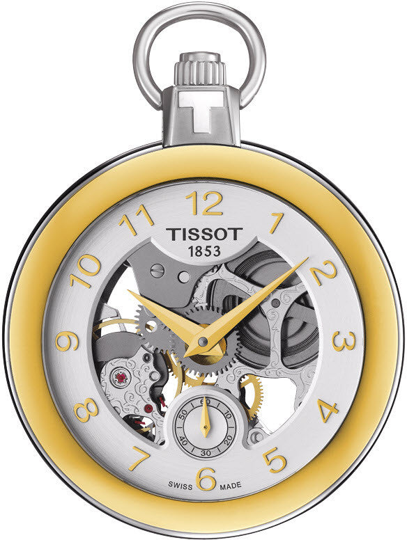 Tissot Watch Pocket Mechanical Skeleton