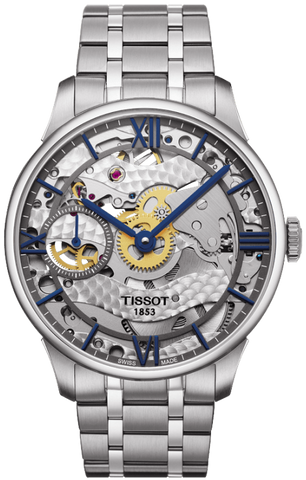 Tissot Watch Chemin des Tourelles Skeleton