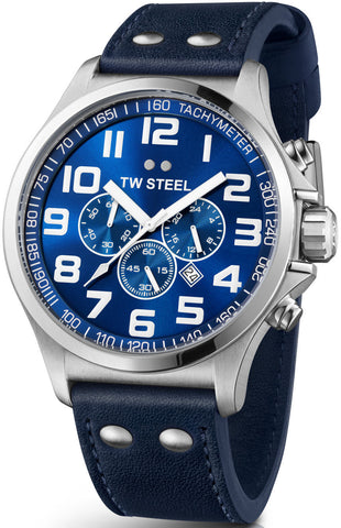 TW Steel Watch Pilot Chronograph 48mm