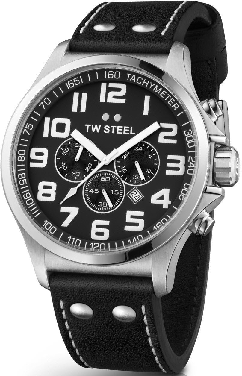 TW Steel Watch Pilot Chronograph 45mm