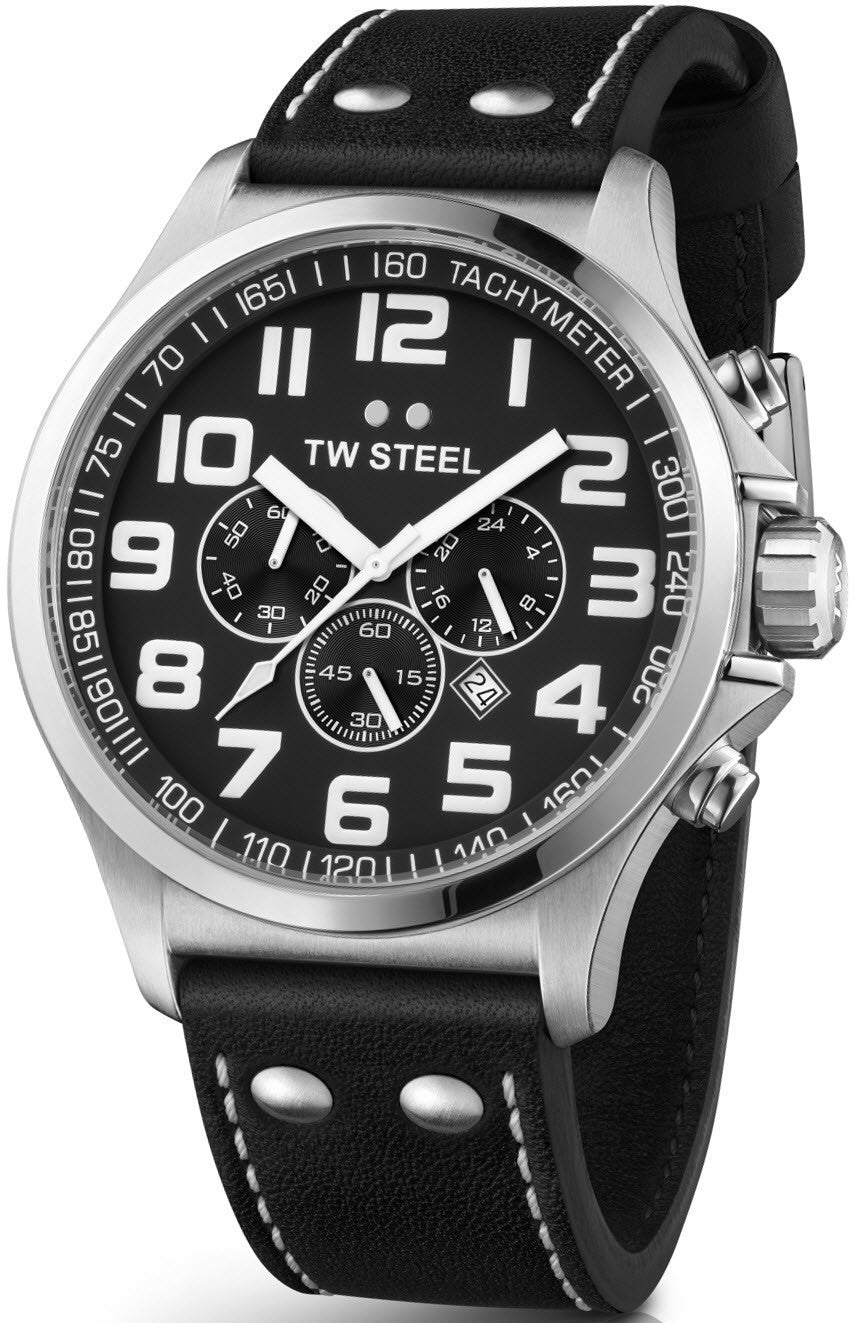 TW Steel Watch Pilot Chronograph 48mm D