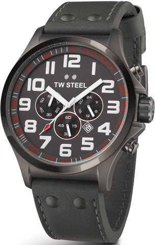 TW Steel Watch Pilot Titanium Chronograph 48mm D