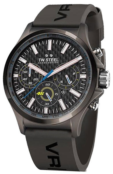 TW Steel Watch VR/46 Valentino Rossi Yamaha Factory Racing Pilot 48