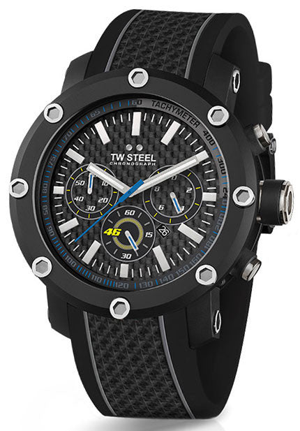 TW Steel Watch VR/46 Valentino Rossi Yamaha Factory Racing Tech 48