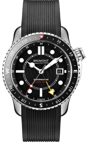 Bremont Watch Supermarine GMT Titanium Terra Nova Limited Edition