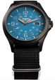 Traser H3 Watches Active Lifestyle P67 Officer Pro GunMetal SkyBlue 108647