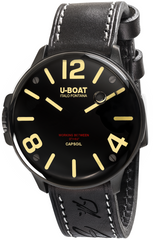 U-Boat Watch Capsoil DLC Leather Strap D