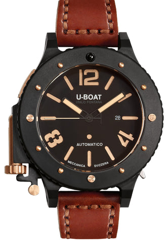 U-42 Black & Bronze PVD 53mm D