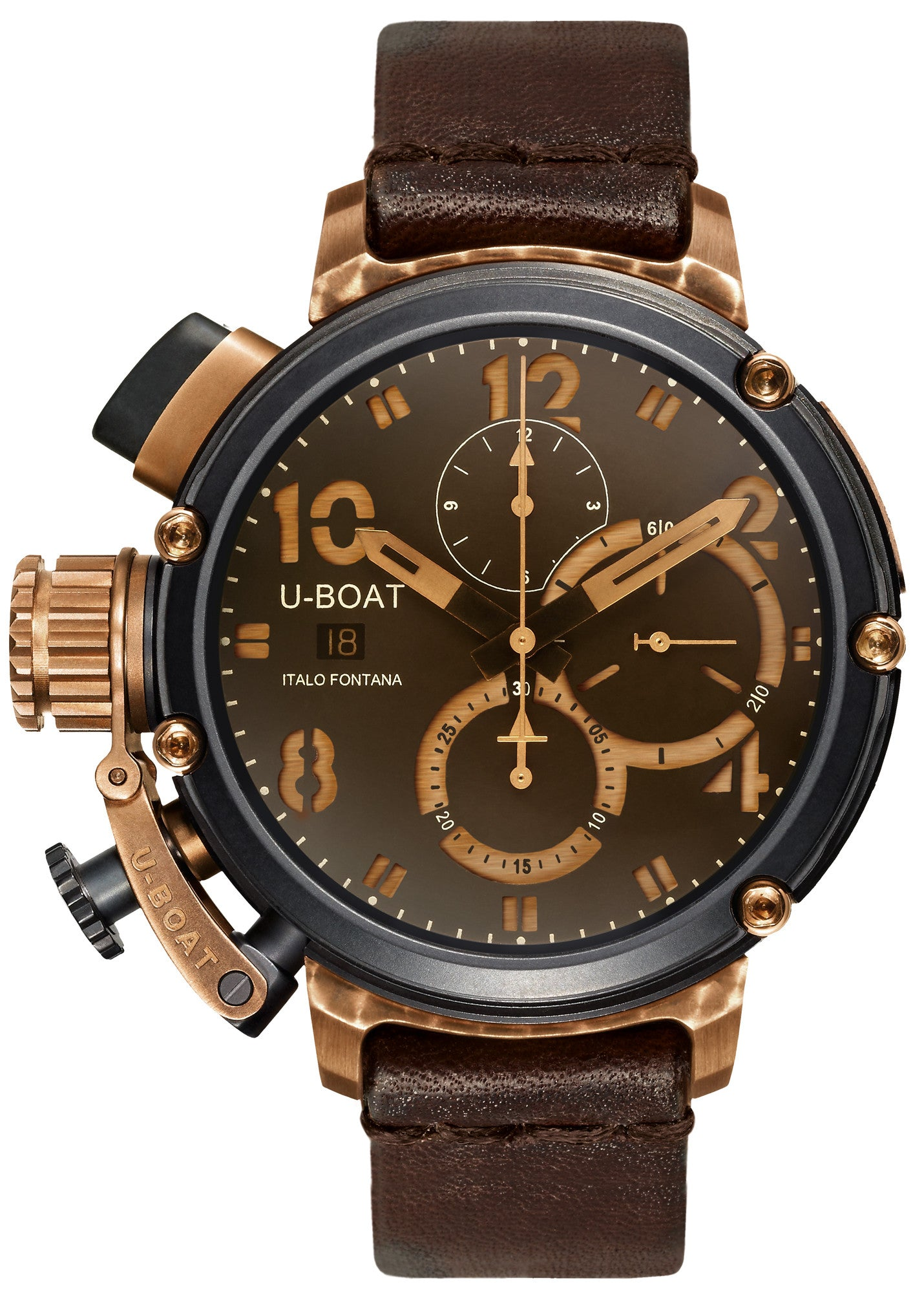 U-51 Black & Bronze Chronograph 47mm D