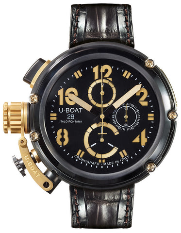 U-Boat U-51 Chrono Gold Arrow D
