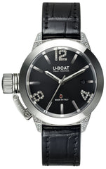 U-Boat Watch Classico 40 SS White Diamond