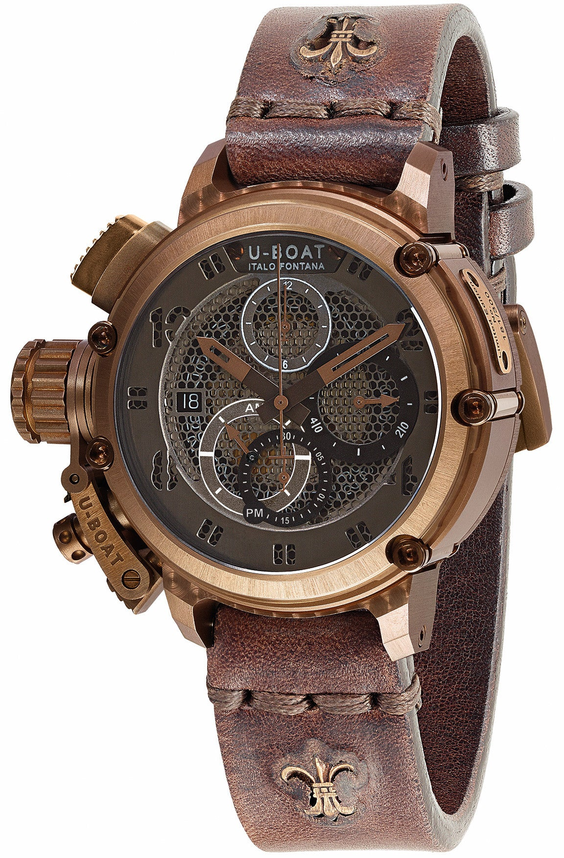 U-Boat Watch Chimera Net Bronze