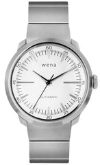 Wena Watch Wrist Pro With White Mechanical Three Hands Face