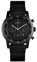 Wena Watch Wrist Pro With Black Quartz Chronograph Face