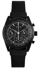 Wena Watch Wrist Active With Black Solar Chronograph Face