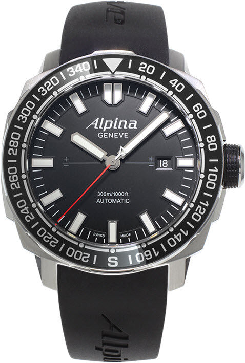 Alpina Watch Seastrong Yacht Timer Tactical Planner Limited Edition