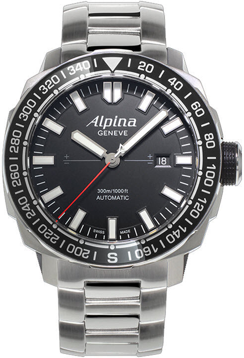 Alpina Watch Seastrong Yachtimer Tactical Planner Limited Edition